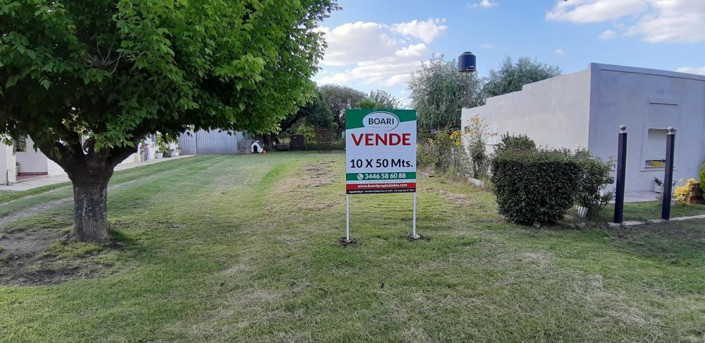 VENDO Terreno 10x50m.