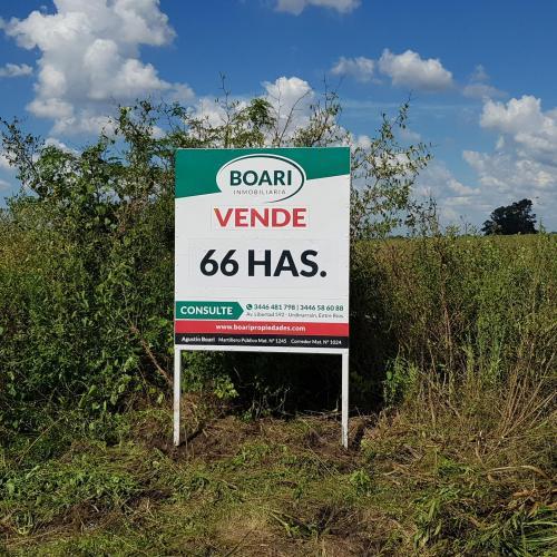 VENDO Basavilbaso 66 has. Agrícolas