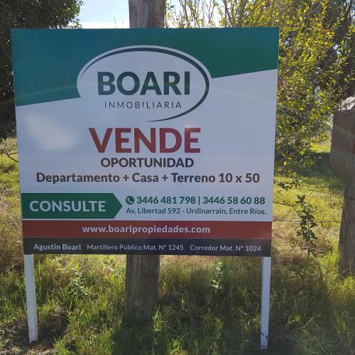 VENDO EN URDINARRAIN.  Casa + Dto. + terreno